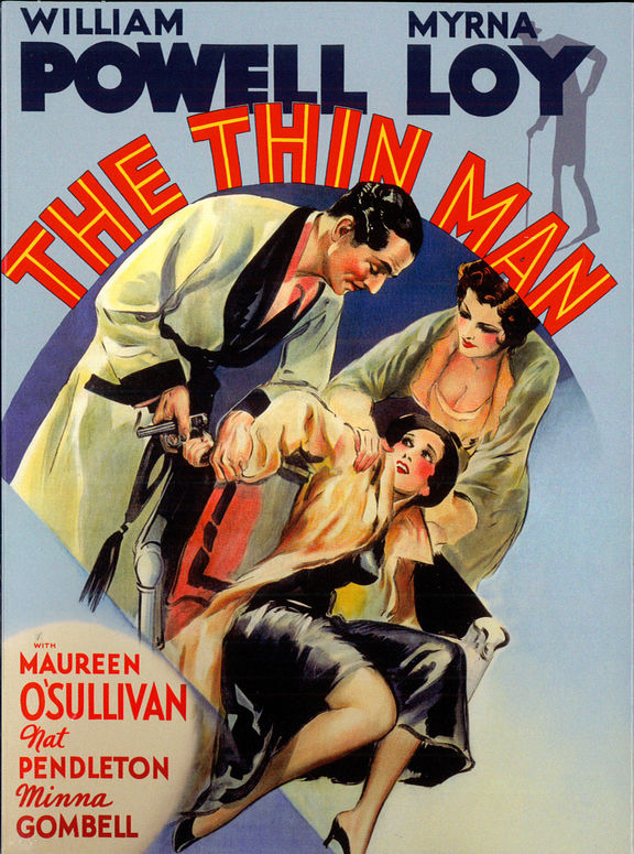 The thin man movie poster