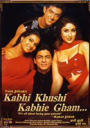 Poster Kabhi Khushi Kabhie Gham...