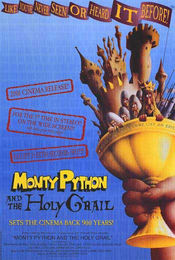 Poster Monty Python and the Holy Grail