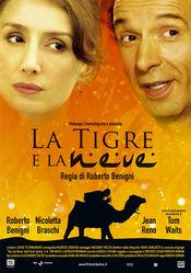 Poster La Tigre e la neve
