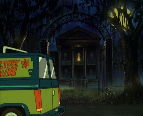 House Like In Scooby Doo Zombie Island Movie Real Life