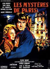 Poster Les Mysteres de Paris