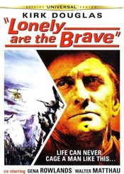 Poster Lonely Are the Brave