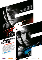 Poster Fast and Furious 4