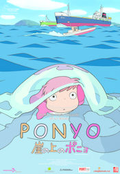 Poster Ponyo on the Cliff