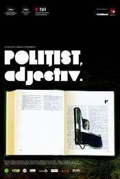 Poster Poliist, adjectiv