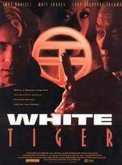 Poster White Tiger