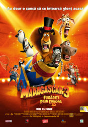 Poster Madagascar 3: Europe's Most Wanted