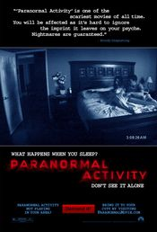 Poster Paranormal Activity