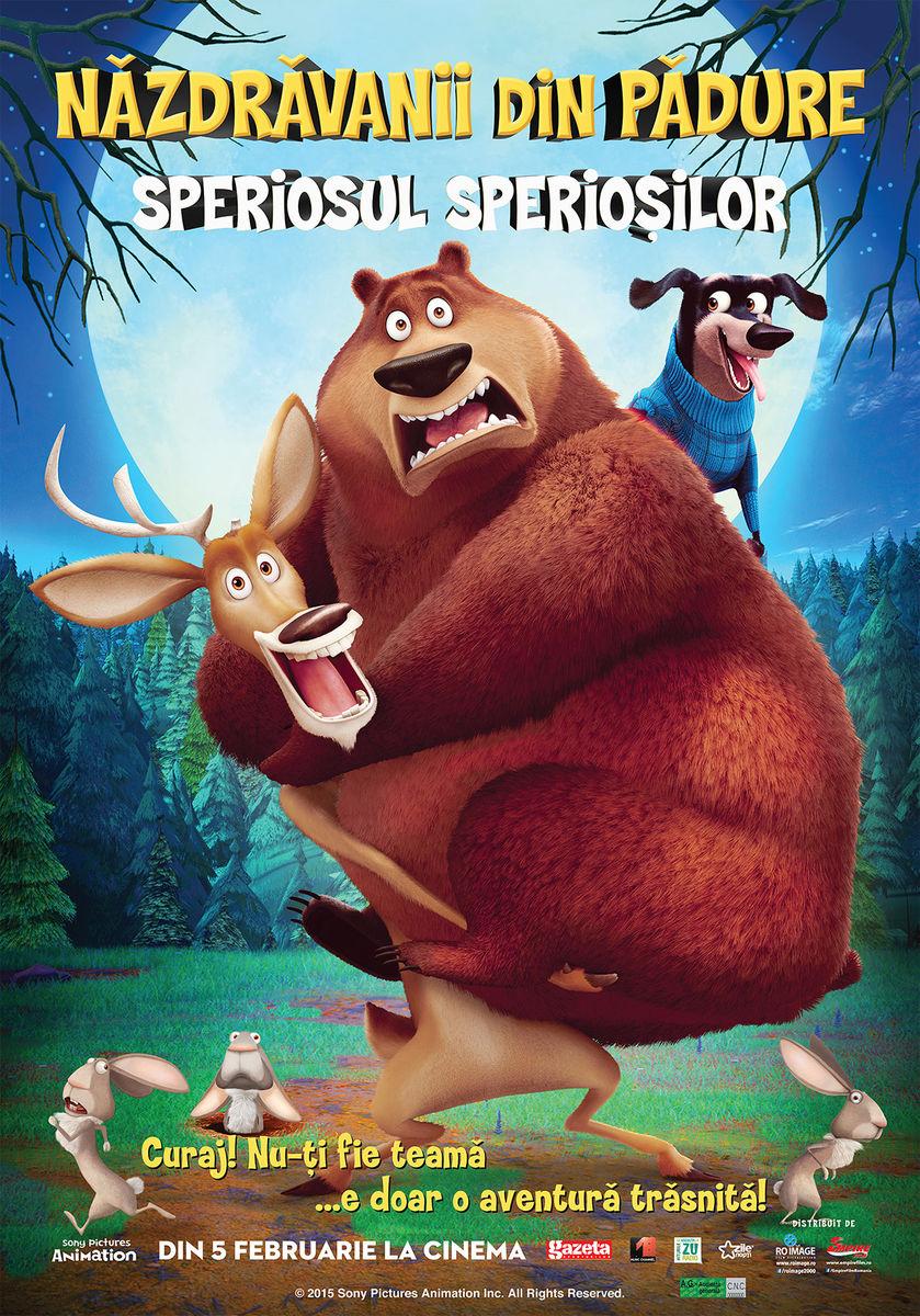 poster Open Season: Scared Silly – Năzdrăvanii din pădure. Speriosul sperioșilor (2015)
