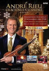 Poster André Rieu - Christmas with André