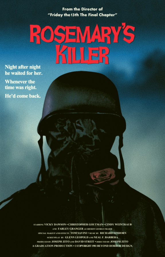 Movie poster of the prowler 1981