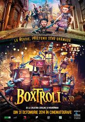 Poster The Boxtrolls