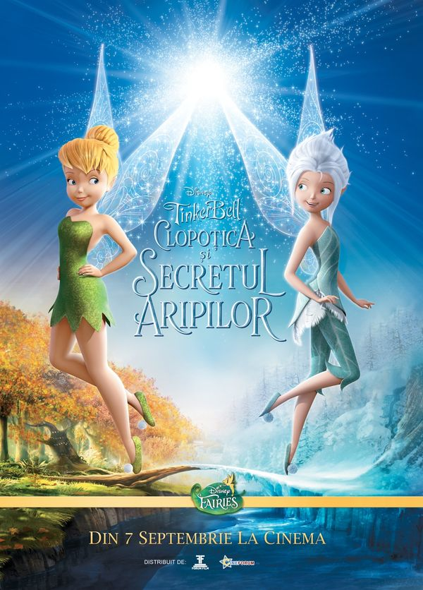 TINKERBELL - Secret of the Wings (Clopoțica) - YouTube