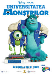 Poster Monsters University
