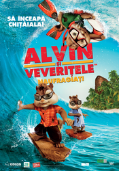 Poster Alvin and the Chipmunks: Chip-Wrecked