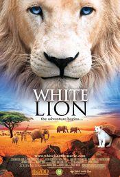 Poster White Lion