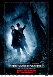 Poster Sherlock Holmes: A Game Of Shadows