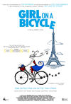 O fată pe bicicletă