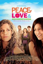Poster Peace, Love, & Misunderstanding