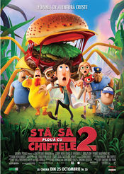 Poster Cloudy with a Chance of Meatballs 2
