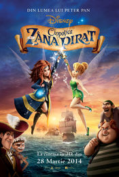 The Pirate Fairy – Clopotica si Zana Pirat (2014) Online subtitrat