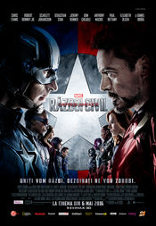 Poster Captain America: Civil War