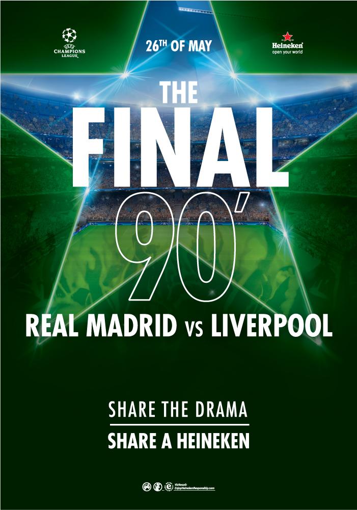Poster Finala UEFA Champions League