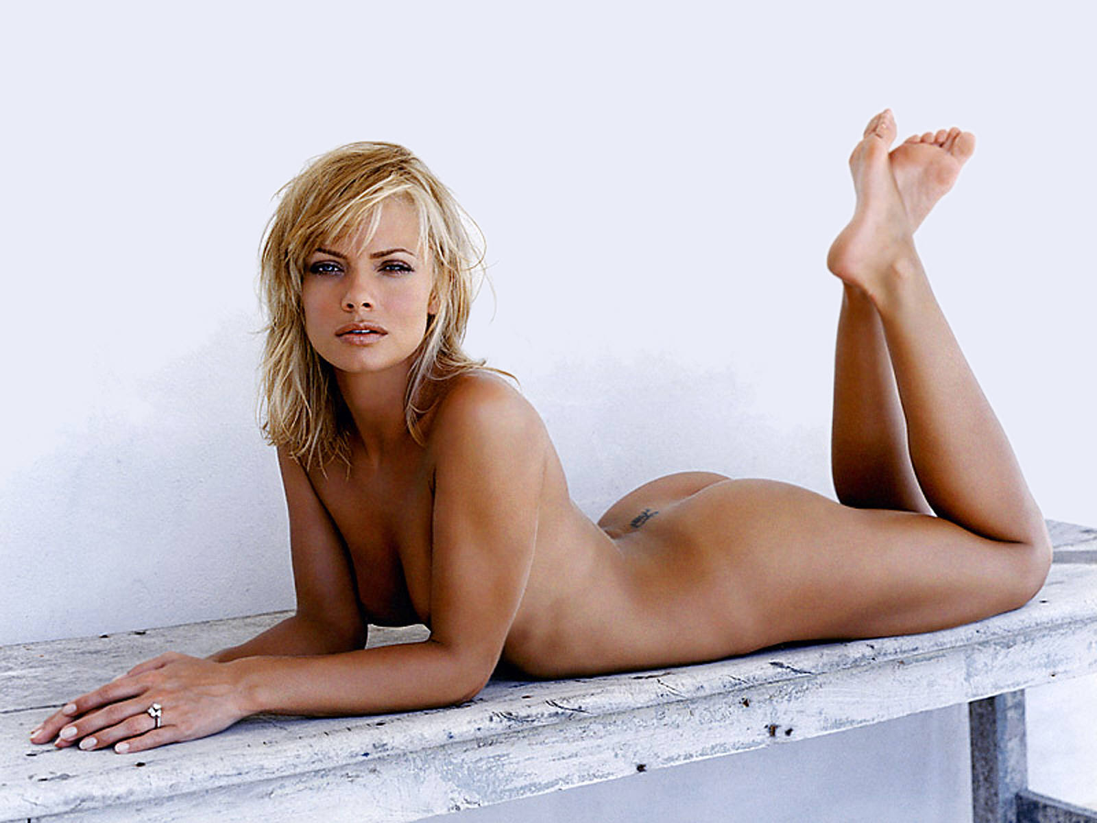 Jaime pressly topless, benefits of high frequency facial