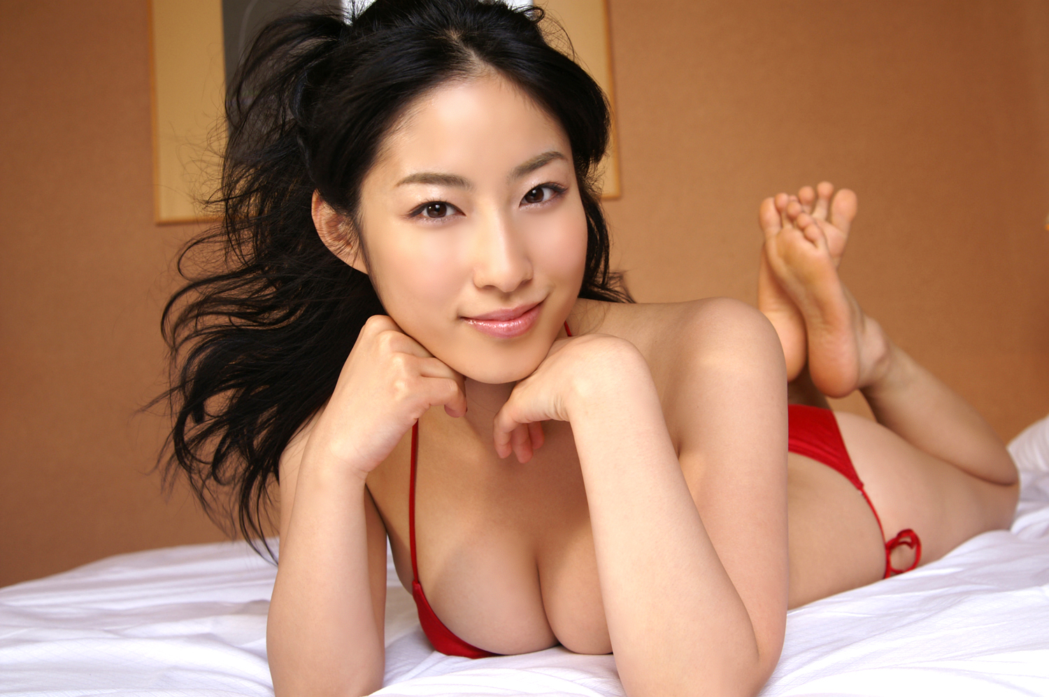 The asian woman who has a splendid constriction 9