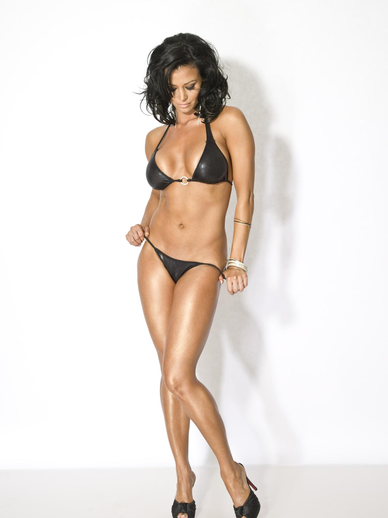 Candice michelle army bikini — pic 3