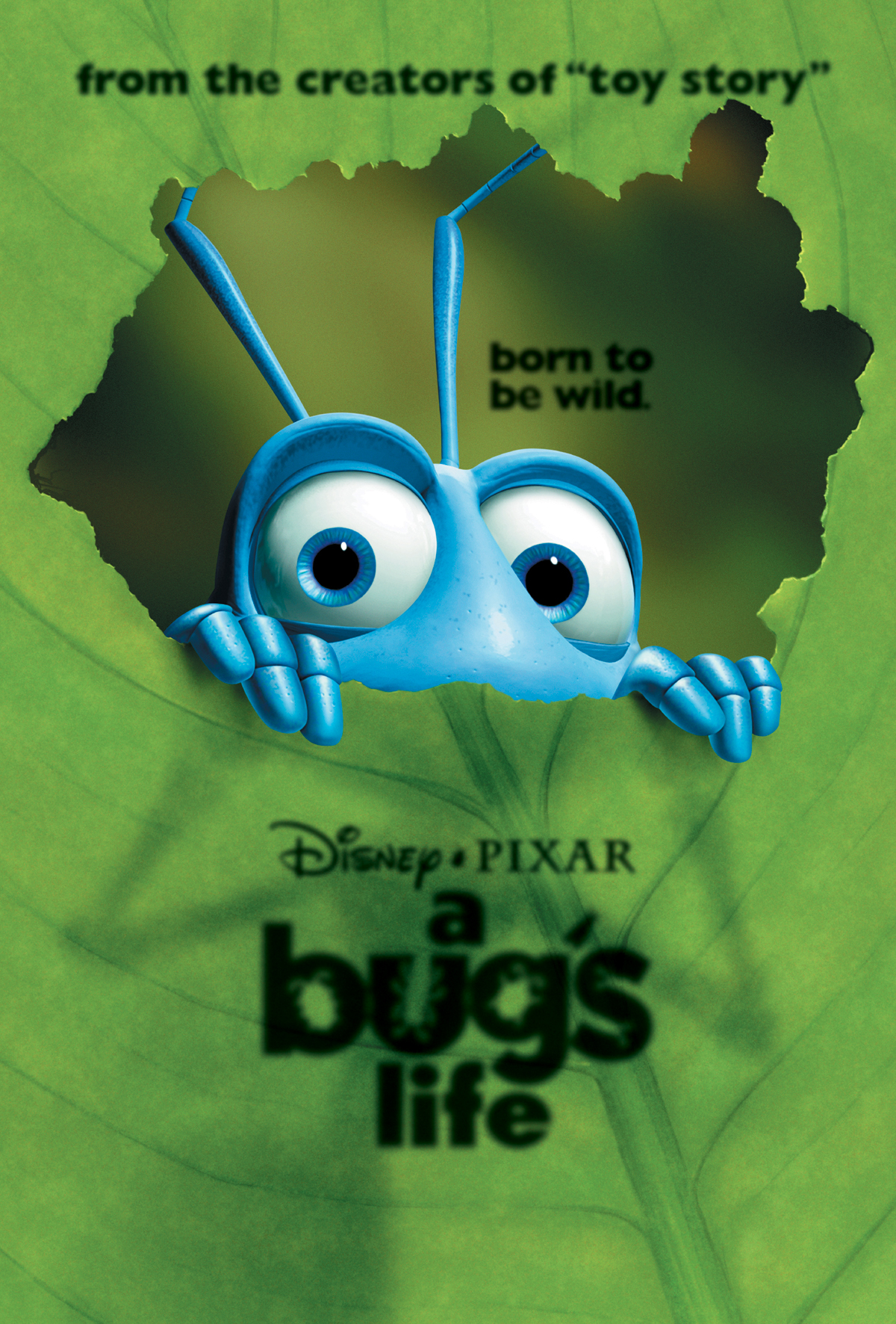 It is a photo of Intrepid A Bug's Life Poster