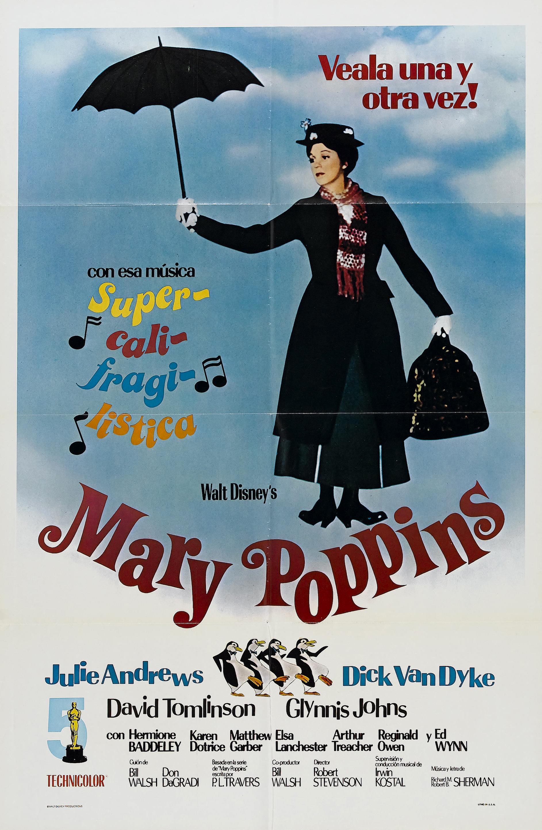 ディズニー映画のメリー・ポピンズという映画
