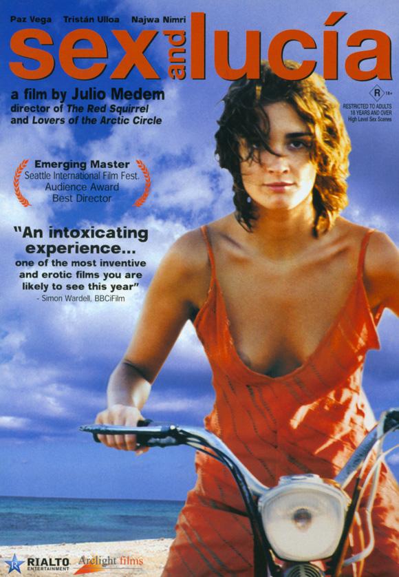 Poster Lucía y el sexo (2001) - Poster Lucia și sexul