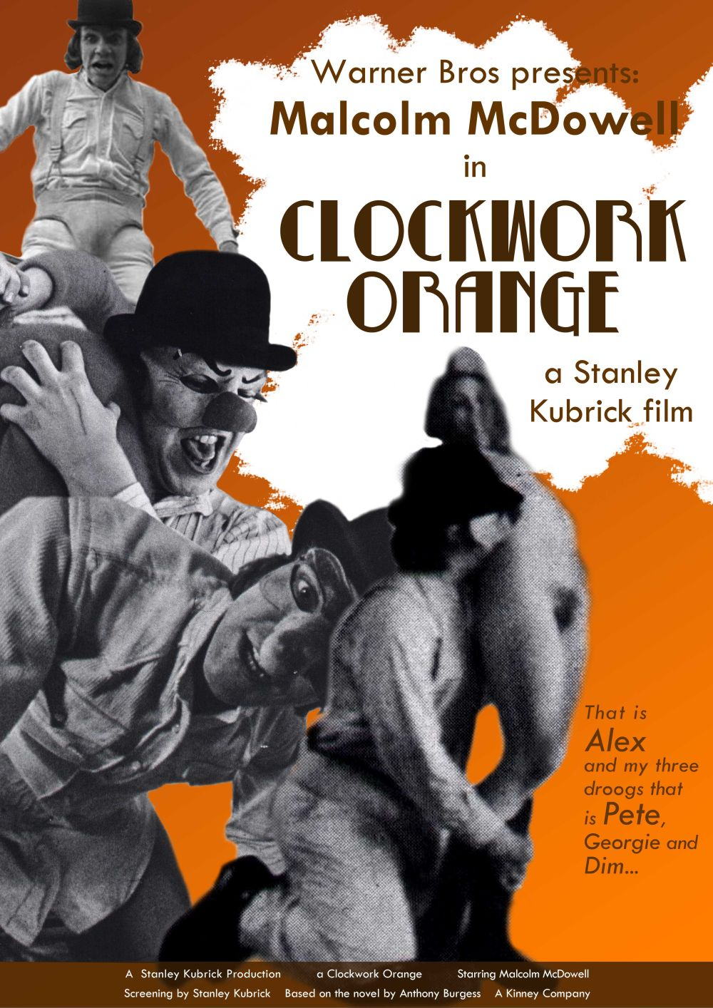 violence in a clockwork orange analysis Yet when he is the victim, particularly of the obsessed author of a clockwork orange, one cannot help but feel something the patron of the library is also a good example when he is the victim early on in the book, he is harmless and weak, and the attack on him is brutal.