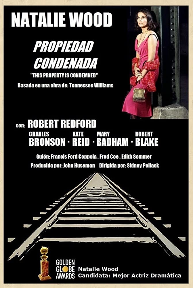 Poster This Property Is Condemned (1966) - Poster ...