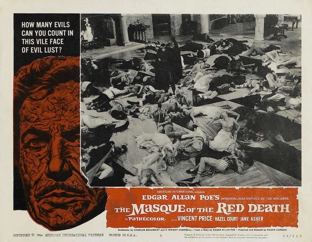 essay on the masque of the red death