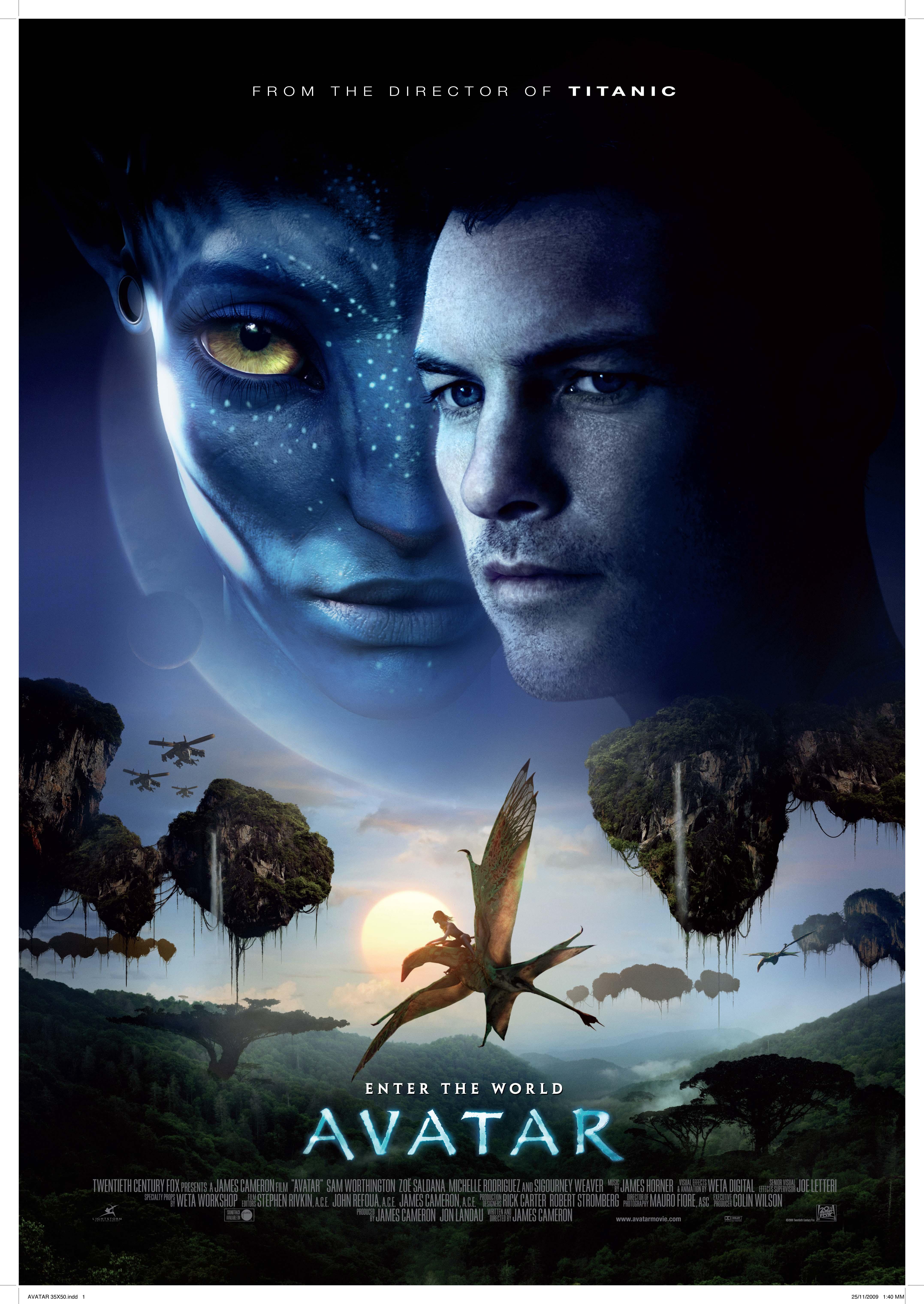 Poster Avatar (2009) -... Michael Fassbender Wiki