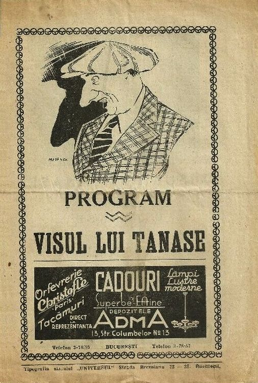 Visul lui Tanase - Visul lui Tanase (1932) - Film - CineMagia.ro