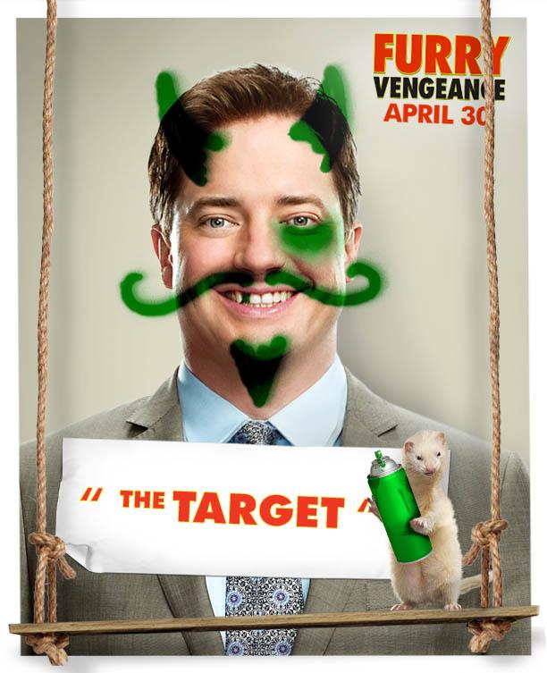 Poster Furry Vengeance (2010) - Poster Brigada Pestriță ...
