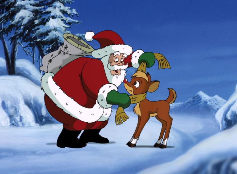 Rudolph red nose reindeer movie