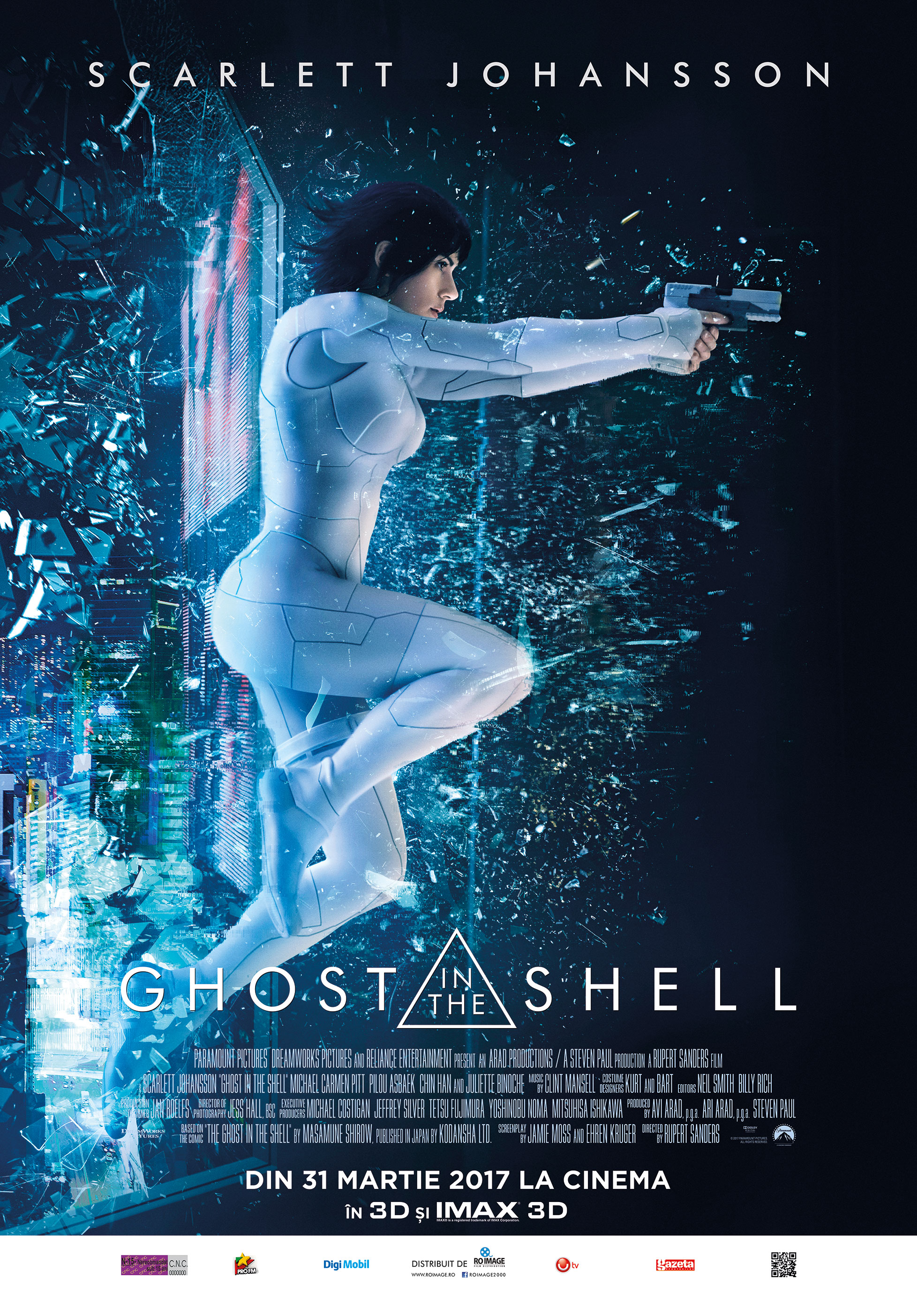 Ghost in the Shell Online Subtitrat In Romana