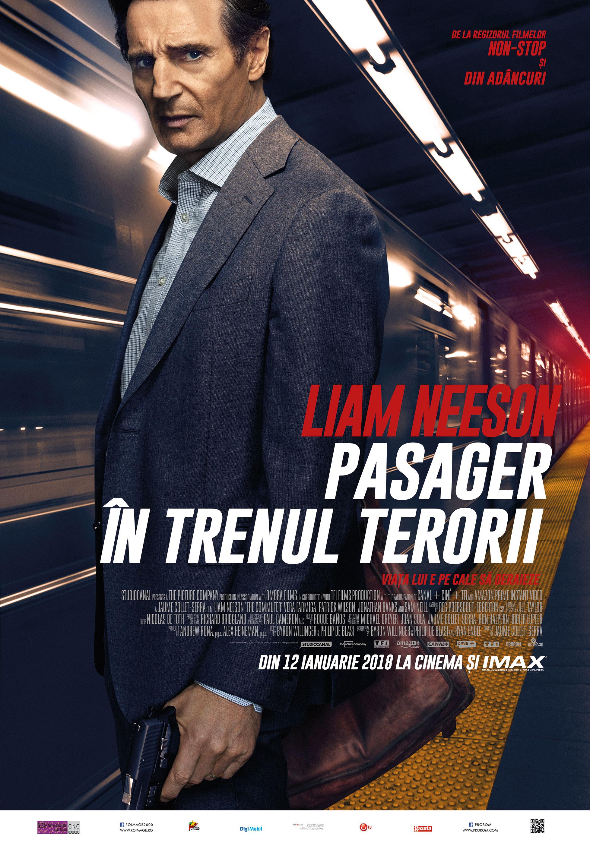 The Commuter Pasager în Trenul Terorii 2018 Film