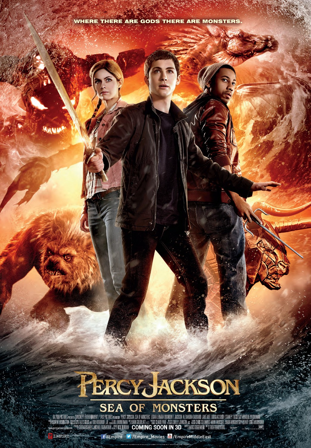 Percy Jackson: Sea of Monsters Online Subtitrat In Romana