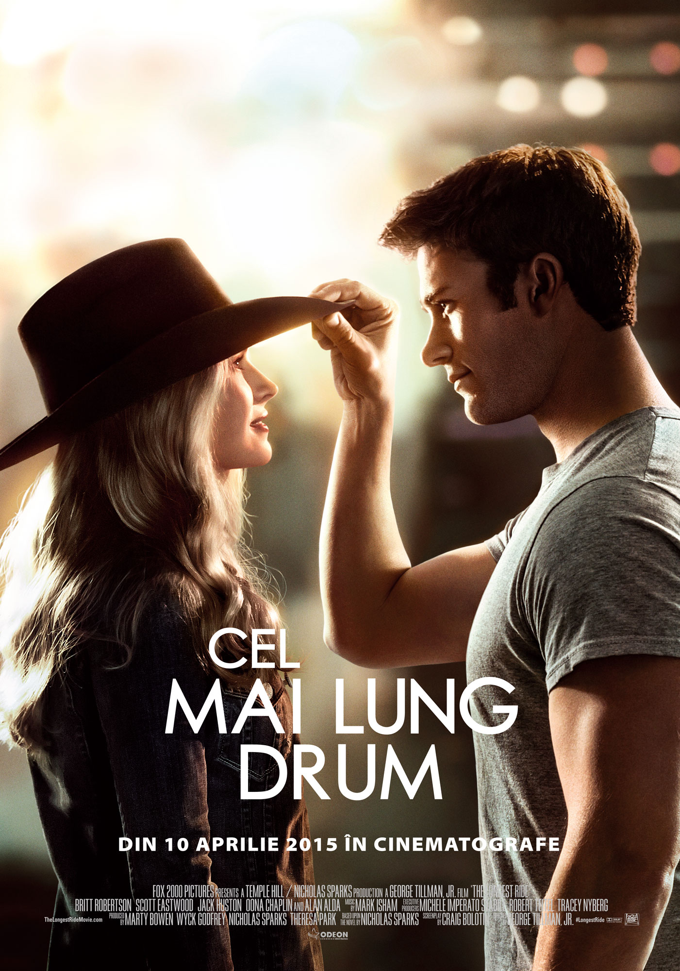 poster the longest ride 2015 poster cel mai lung drum