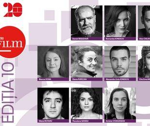 TIFF anunţă actorii din programul 10 pentru FILM
