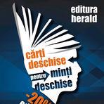 Concurs -  Cărți deschise pentru minți deschise  - 3 volume oferite de  Editura Herald