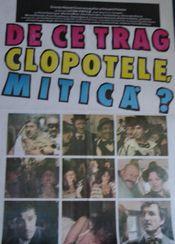 Poster De ce trag clopotele, Mitică?