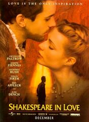 Poster Shakespeare in Love