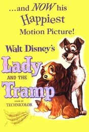 Poster Lady and the Tramp